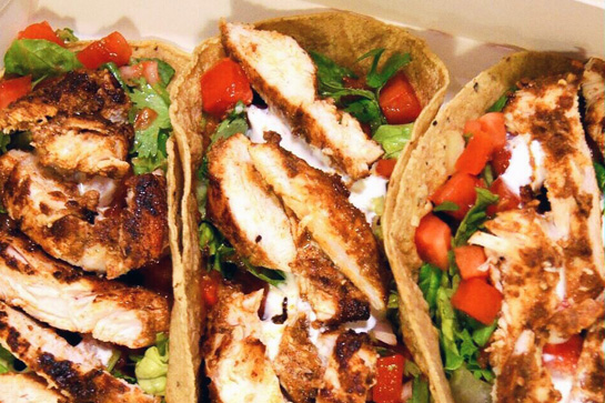 Easy recipe to make chicken fajitas in the microwave in under 15 minutes.